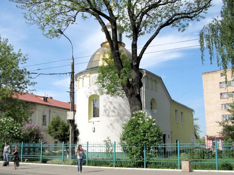 Луцк: Кресто-Воздвиженская церковь