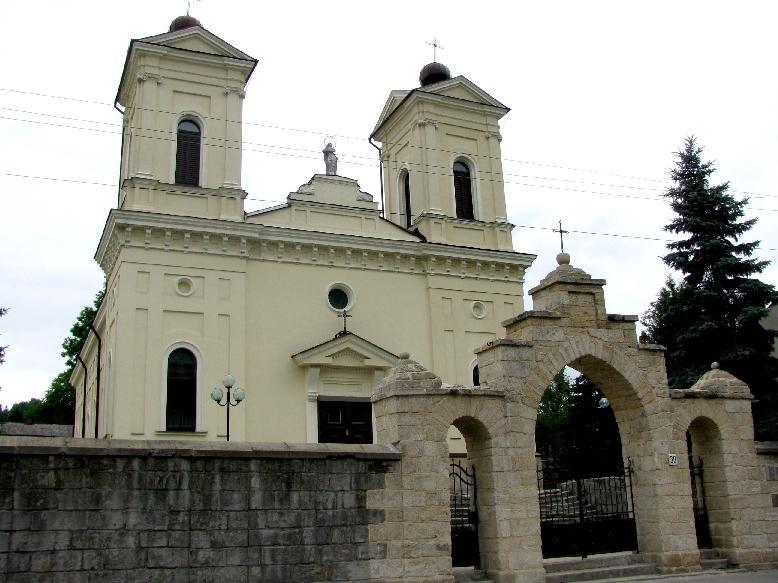 Кременец: костёл св.Станислава