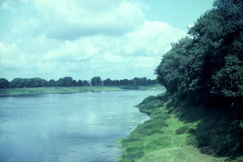 Даугавпилс: Даугава у Гривского моста