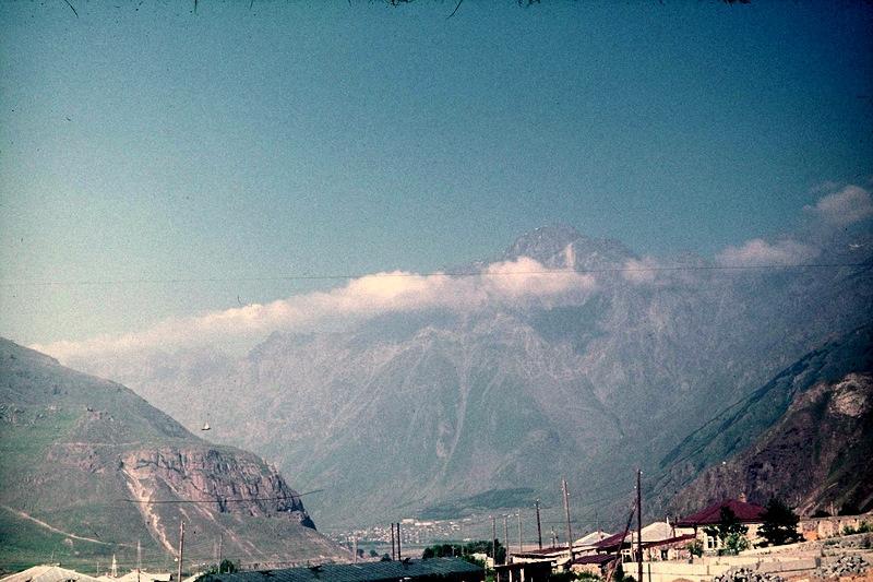 Казбеги: панорама