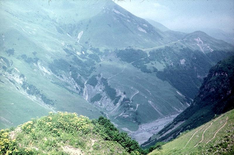 Кайшаурская долина: Белая Арагви