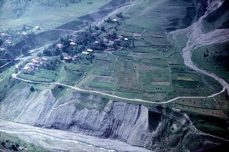 долина Арагви: селение Земо-Млети