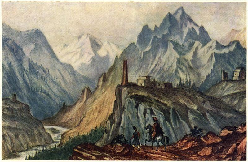 Михаил Лермонтов: Башня в Сиони