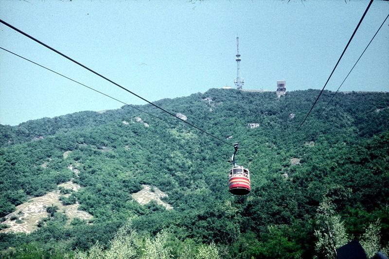 канатная дорога на гору Машук
