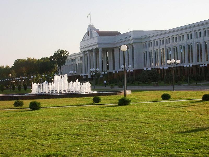 Ташкент: здание Сената