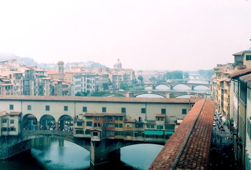 Флоренция: мост Понте Веккьо