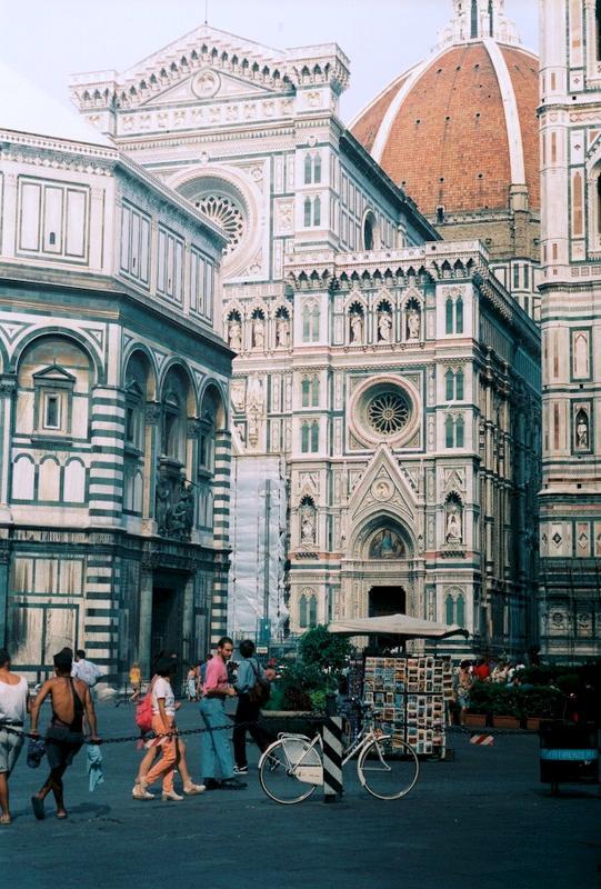 Флоренция: кафедральный собор Санта-Мария-дель-Фьоре