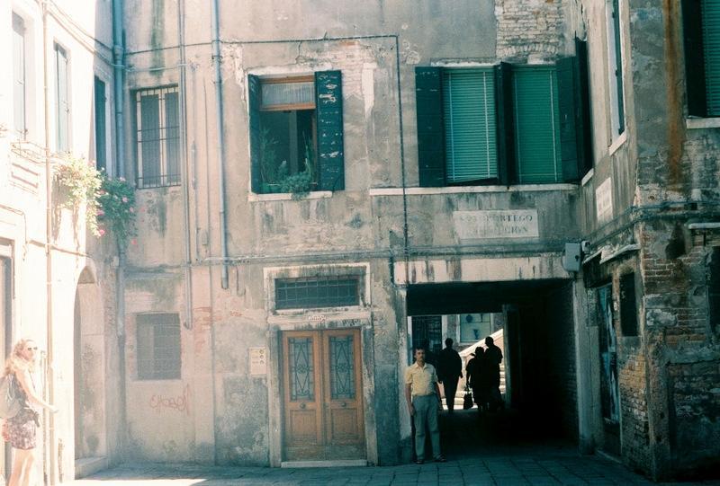 Венеция: типичный дворик