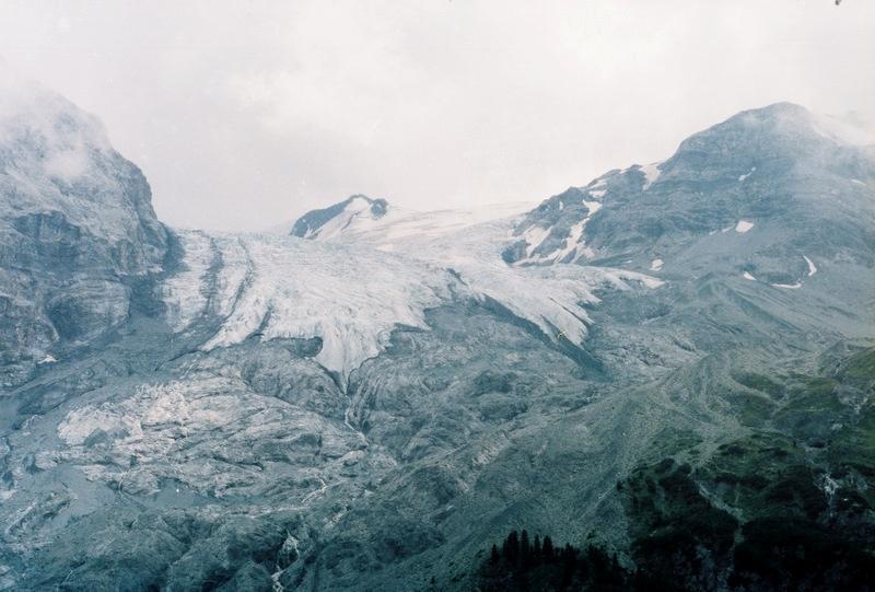 Альпы: ледники на хребте Ортлер