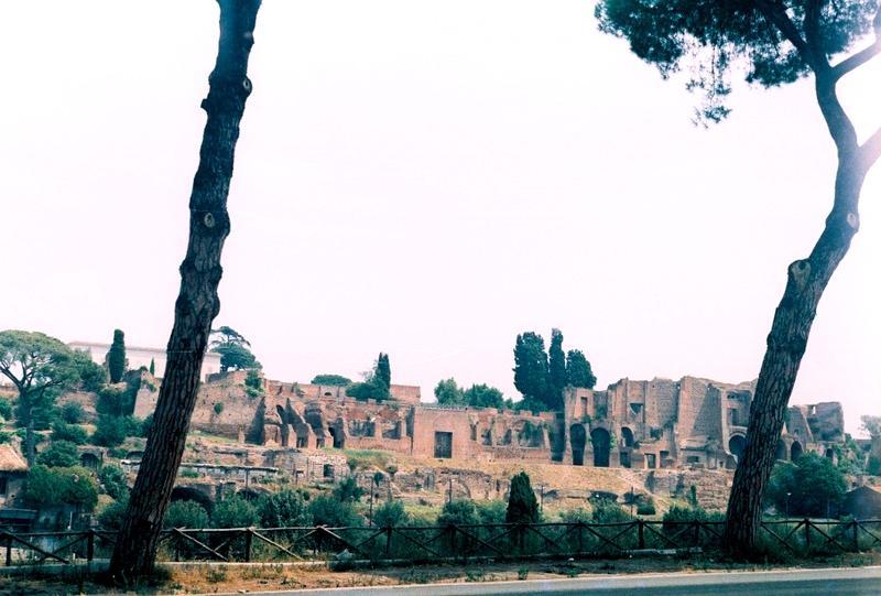 Рим: Палатинский холм