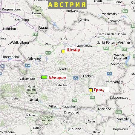 рассказы о малых городах Австрии